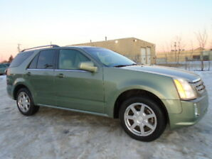 2005 Cadillac SRX LEATHER-SUNROOF-7 SEATS--ONLY 169K