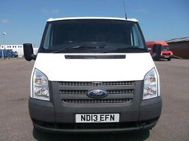 Ford Transit 100T280 SWB LOW ROOF VAN TDCI 100PS DIESEL MANUAL WHITE (2013)