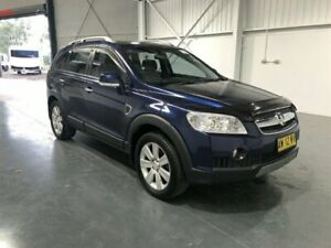 2008 Holden Captiva CG MY08 LX (4x4) Blue 5 Speed Automatic Wagon Beresfield Newcastle Area Preview