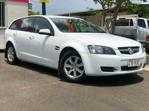 2008 Holden Commodore VE MY09 Omega Sportwagon White 4 Speed Automatic Wagon Garbutt Townsville City Preview