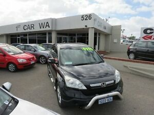 2008 Honda CR-V Black 6 Speed Manual 4x4 Wagon Victoria Park Victoria Park Area Preview
