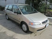1999 Honda Odyssey 1st Gen Gold 4 Speed Automatic Wagon Tottenham Maribyrnong Area Preview