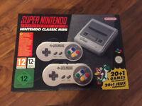 Super Nintendo / SNES Mini Classic - New and Boxed - London