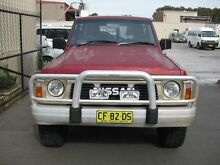 1992 Nissan Patrol (4X4) Burgundy BURGUNDY Cab Chassis Banksmeadow Botany Bay Area Preview