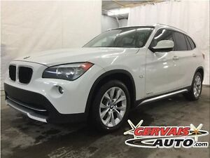 BMW X1 28i Xdrive Cuir Toit Panoramique MAGS 2012