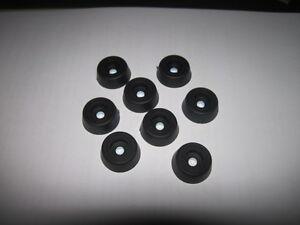 8 x Small Case / Speaker Rubber feet 22.4mm  x 7.9mm