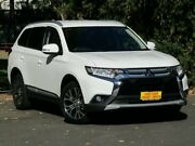2016 Mitsubishi Outlander ZK MY17 LS 4WD Safety Pack White 6 Speed Sports Automatic Wagon Melrose Park Mitcham Area Preview