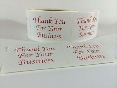 250 Thank You Sticker Label BUSINESS 2