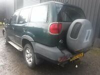 Breaking green nissan terrano diesel parts 4x4 spares