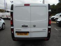 Vauxhall Vivaro 2900 1.6Cdti 115Ps H1 Van DIESEL MANUAL WHITE (2015)