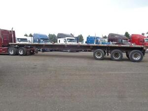 2000 FONTAINE 48 TRIDEM COMBO FLAT BED TRAILER Kitchener / Waterloo Kitchener Area image 13