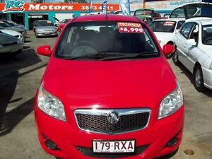 2008 Holden Barina TK MY09 Red 5 Speed Manual Hatchback Capalaba West Brisbane South East Preview