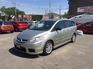 2007 Mazda5 GS--CERTIFIED--2.3L GREAT ON GAS-----