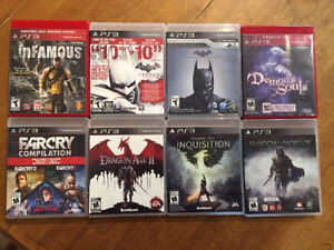 PS3 Games for Sale/Trade