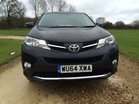 2014 (64)Toyota RAV4 2.0D Icon1 owner immaculate condition throughout
