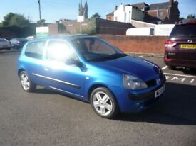 2004 (54) RENAULT CLIO DYNAMIQUE 16V new cam-belt, new mot