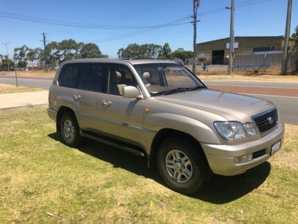 1998 Lexus LX470 UZJ100R (4x4) Beige 4 Speed Automatic 4x4 Wagon Wangara Wanneroo Area Preview