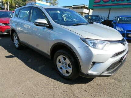 2016 Toyota RAV4 ASA44R MY16 GX (4x4) Silver 6 Speed Automatic Wagon