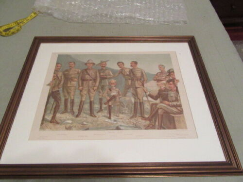 """""""A General Order""""  Baden-Powell with Lord Roberts & His Staff Print      TH4"""
