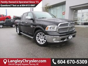 2014 RAM 1500 Longhorn <B>*ACCIDENT FREE*Air Suspension, 4-Co...