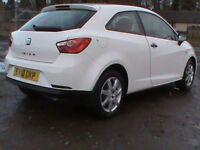 SEAT IBIZA 1.2 S 3 DR WHITE,1 YRS MOT,CLICK ON VIDEO LINK TO SEE CAR IN GREATER DETAIL