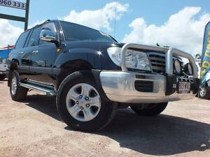 2007 Toyota Landcruiser UZJ100R GXL Black 5 Speed Automatic Wagon Rosslea Townsville City Preview
