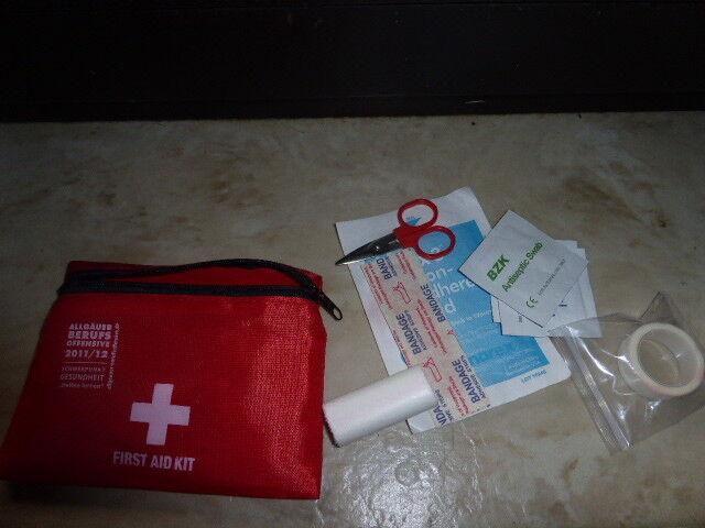 1. Hilfe Set First Aid Kit z. Mitnehmen Tasche Wandern Radfahren an d. Gürtel