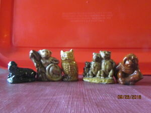 Red Rose Tea Figurines