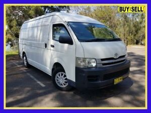 2008 Toyota HiAce KDH221R MY08 White Automatic Van Lansvale Liverpool Area Preview