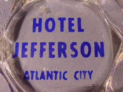 Vintage Hotel Jefferson Atlantic City New Jersey Ashtray