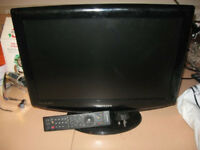 "Samsung 19"" LCD Television & Alba digital set top box"