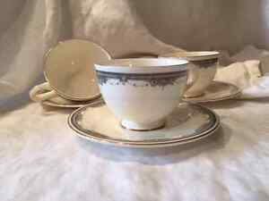 Bone China Tea/Coffee Cups and Saucers -- Royal Doulton