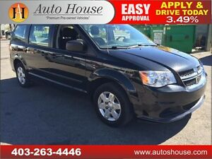 2013 Dodge Caravan SPECIAL EDITION SE 90 days no payment