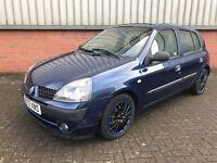 Renault Clio 2003 diesel (1461cc) Blue