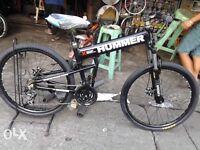 Fantastic Hummer folding bicycle mountain bike Scott Carrera Cannondale trial