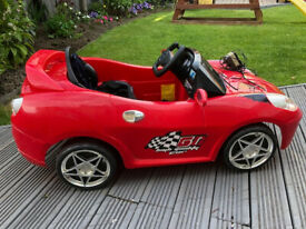Childs Ride On Battery operated Sports car