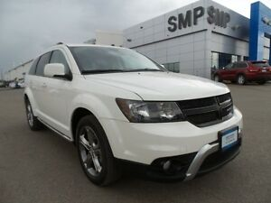 2016 Dodge Journey Crossroad 3.6L V6 - AWD, Navigation, Remote S