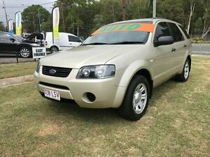 2006 Ford Territory SY TX (4x4) Gold 6 Speed Auto Seq Sportshift Wagon Clontarf Redcliffe Area Preview