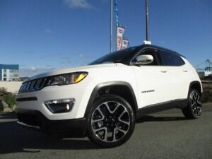 2017 JEEP COMPASS Limited 4X4 (LEATHER, NAVIGATION, R/CAM, R/STA