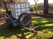Trailer with tank and pump Port Fairy Moyne Area Preview