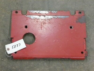 International Harvester 1066 Tractor Front Floor Platetag 5037