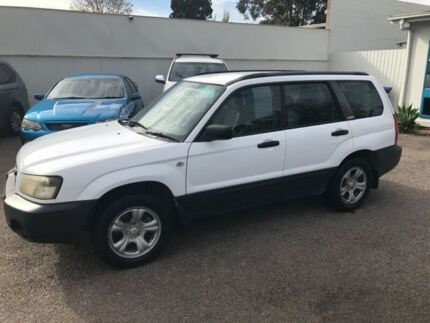 2004 Subaru Forester MY05 X White 4 Speed Automatic Wagon Woodville Park Charles Sturt Area Preview