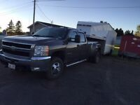2008 Chevrolet Silverado Diesel Dual Axles with V Plow!!!