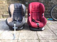 2 maxi cosi car seats
