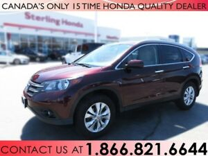 2014 Honda CR-V TOURING | 1 OWNER | NO ACCIDENTS