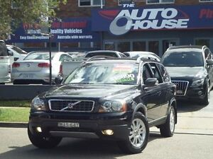 2007 Volvo XC90 MY07 D5 Black 6 Speed Automatic Geartronic Wagon Clyde Parramatta Area Preview