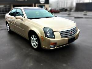 2005 Cadillac CTS 2.8L, auto, leather, sunroof, certified