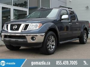 2016 Nissan Frontier SL 4X4 LEATHER ROOF NAV LOW MILEAGE NICE TR