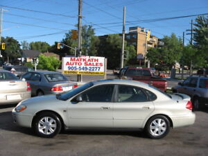 **2005 Ford Taurus SEL** Leather & Sunroof, Certified & E-test