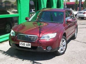 2008 Subaru Outback B4A MY09 AWD Camellia Red Pearl Wagon Nailsworth Prospect Area Preview